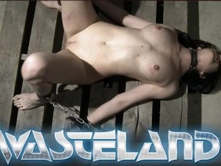 Ginger sex slave had pussy treated like a...