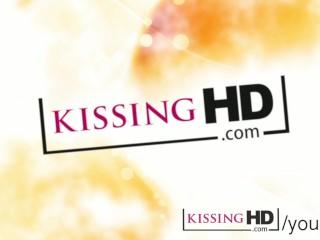 Shy amateur redhead teen lesbian kiss...