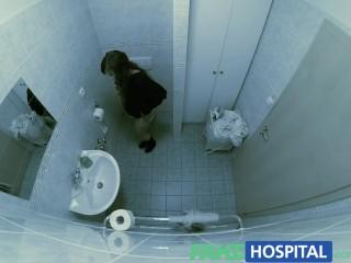 Eases voluptuous patients back pain talented cock...
