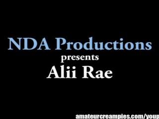 Alii rae gets inseminated creampies...
