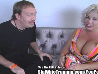Big marie pays dirty d for cock