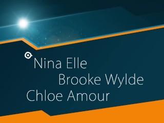 Interview How to give Prepare Anal, Nina, Brooke, Chloe...