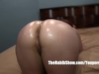 Pawg thick banged by hairy arab