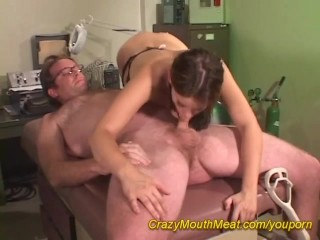 Mouth meat orgy...