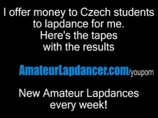 Czech wife does stripshow for horny stranger...