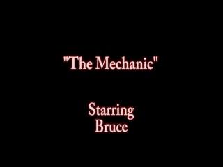 Big tit euro big dick mechanic to pay bill