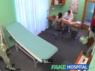 Fakehospital Busty Beauty Needs Doctor To Keep Her Contraceptive Prescription Secret...