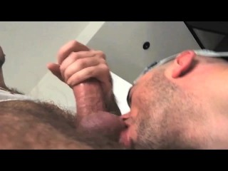 TIERY B.   TWO HOT PIGS   Swallow precum thick cum licking smelling sucking hairy raw french amateur...