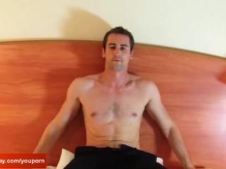 Room Service Guy Hetero Made A Porn For Money...