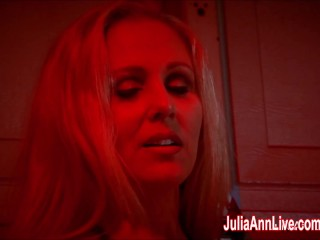 Julia ann sucks dick while smoking cigarettes...