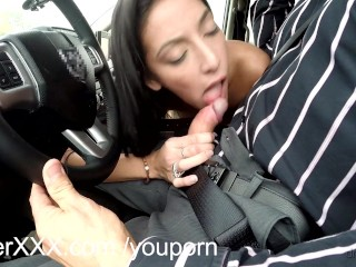 DriverXXX Hot little pussy earns her a ride