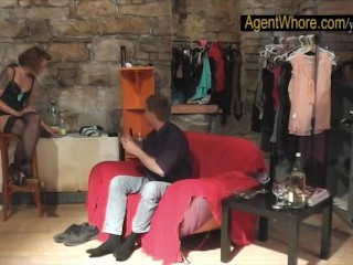 Milf agent whore to youngster with long dick...
