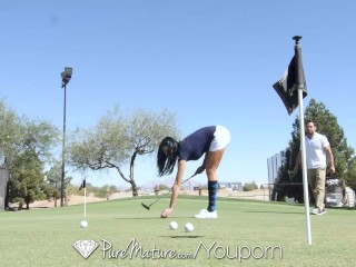 Puremature gets a hole in one with johnny