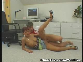 Clinic Doctor Fucks Her Patient