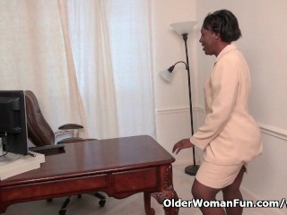 Office strips off and plays...