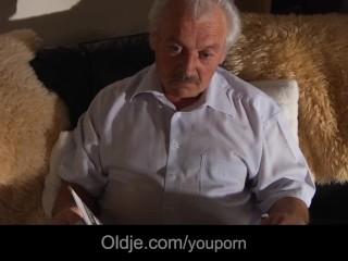 Grandpa gustavo fuck 21 his 76...
