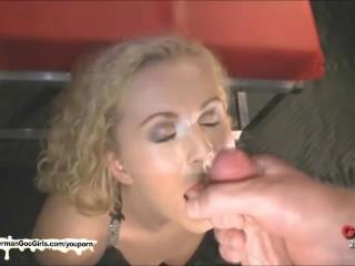 German Goo Grils - Cum covered MILF