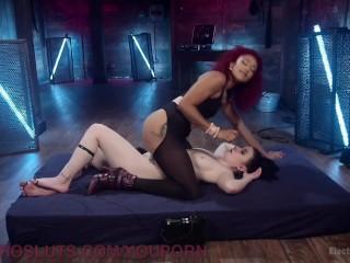 Electrifying Lesbian BDSM
