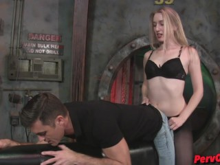Riley Reyes   Lance Hart make some silly ass porn PEGGING BATMAN SENSUAL FEMDOM