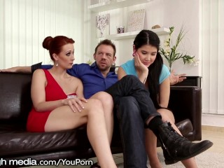 couple-has-a-threesome-with-son-s-gf