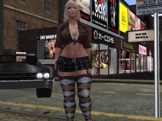 une-jolie-blonde-virtuelle-en-kilt-et-en-bas