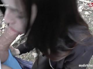 My Dirty Hobby - Young-Devotion Im Wald geblasen