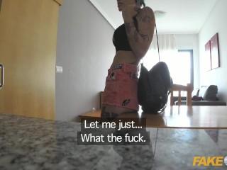 Rock chick fucks uniformed policeman