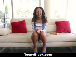 TeenyBlack - Black Teen Fucked In First Time Video