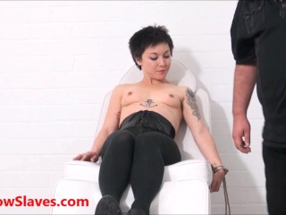 Asian slave mei maras and play polynese masochist in hardcore doctors examination terror...