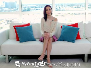 Myveryfirsttime small breasted exotic dani love begs...